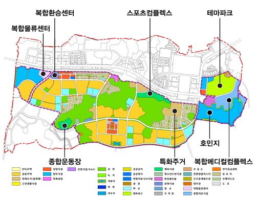 도청 신도시 1단계사업 행정타운 성공적 마무리..2022년까지 2단계사업 본격화!