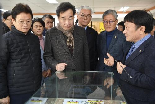 눈에띄네!!! 김학동 군수 취임 이후 간부회의 평소 보고식에서 토론식 회의로 전환!