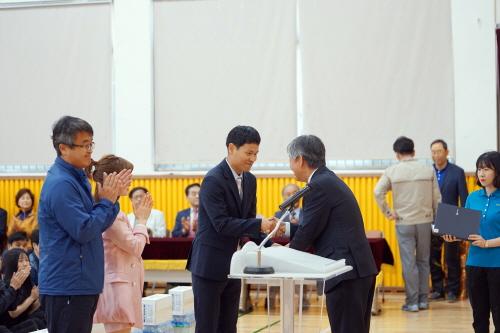예천초, 제36회 스승의 날 기념 교직원체육대회에서 초등부 배구 우승!