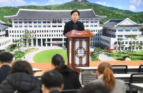[기자수첩]김학동 당선자 군민 말 열린 귀로 듣고 군정 운영할 때 훌륭한