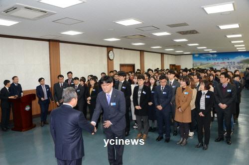 군민과 함께 여는 신군청시대 개막!!! 예천군 황금 개띠의 해