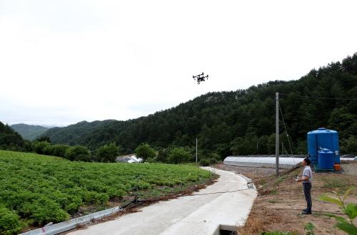 경북도 과수, 밭작물 가뭄.고온피해 예방 위해