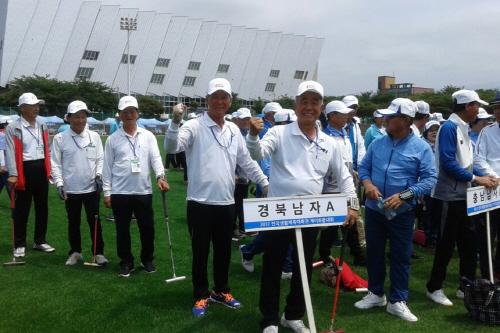경사났네!!! 예천군게이트볼팀 제주에서 개최된