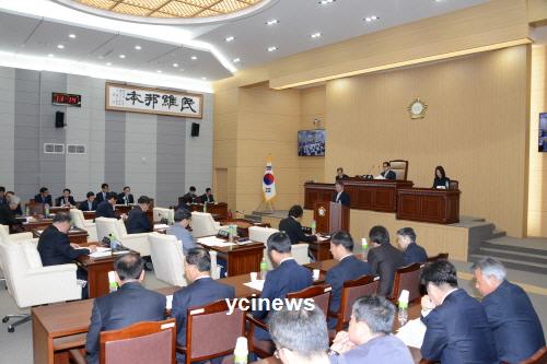 예천군의회 임시회 개회...10일까지 400여억 원 규모