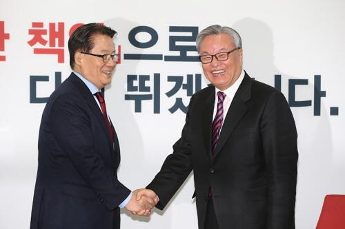 국민의당 박지원 새누리당